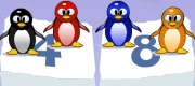 Play Penguin Multiplication now